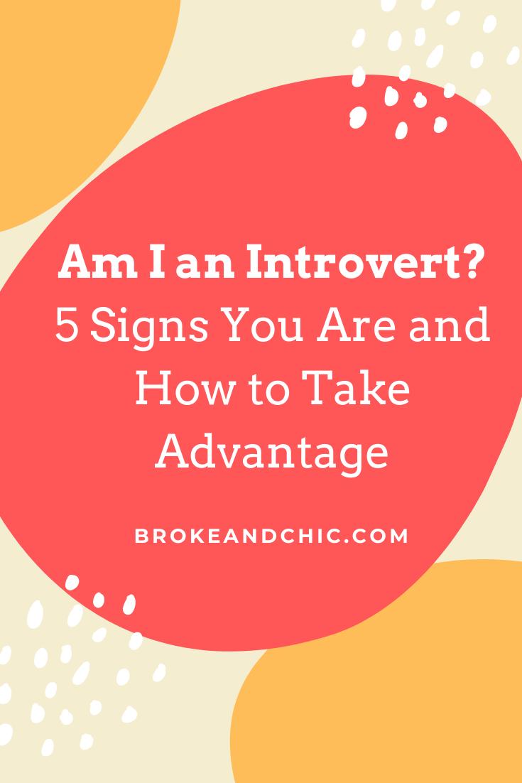 am I an introvert?