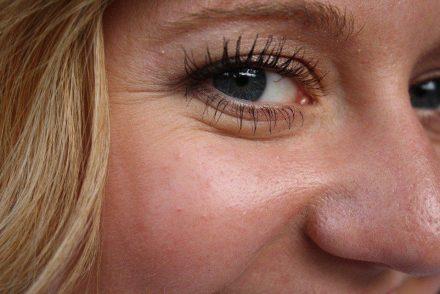 closeup of woman