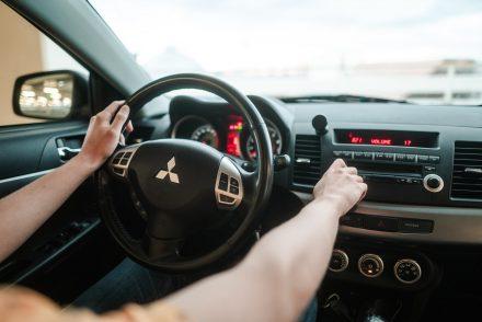 Mitsubishi steering wheel