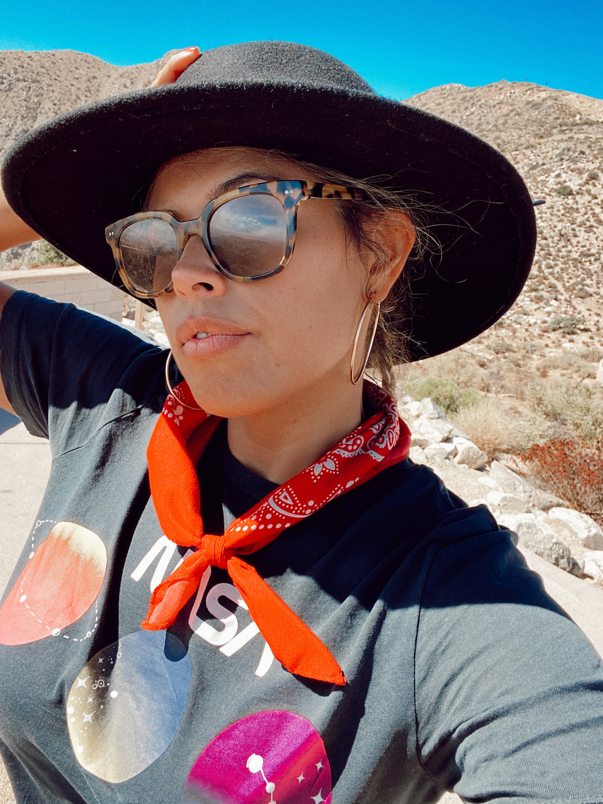 Joshua Tree National Park California Selfie