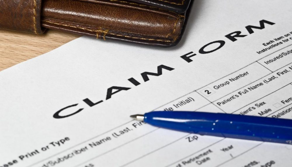 how to fill out a claim form for personal injury