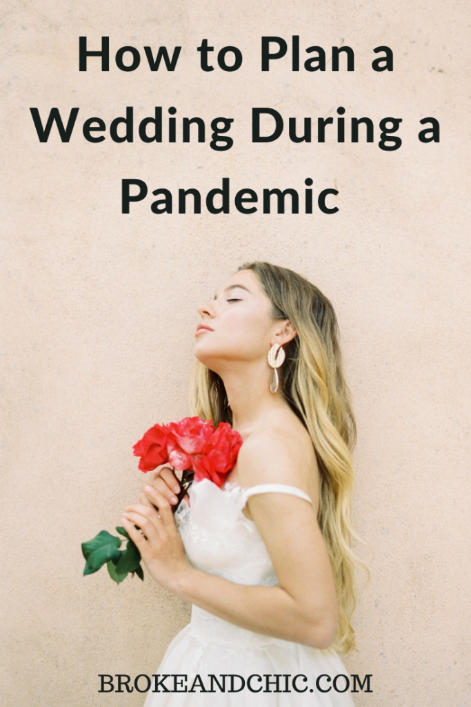 tips and tricks for planning a wedding during the cover-19 pandemic.