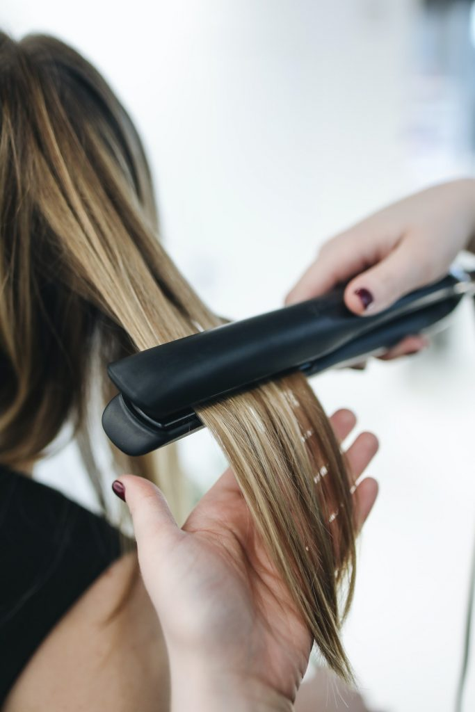 how to safely straighten your hair