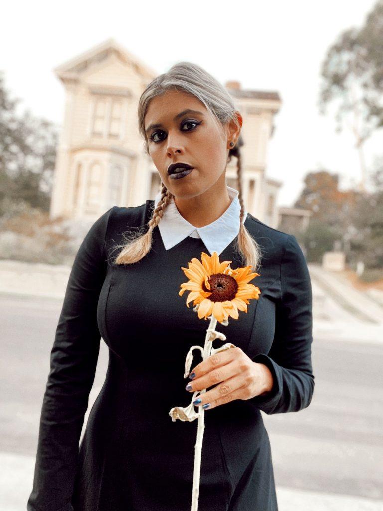 Wednesday Addams cosplay costume