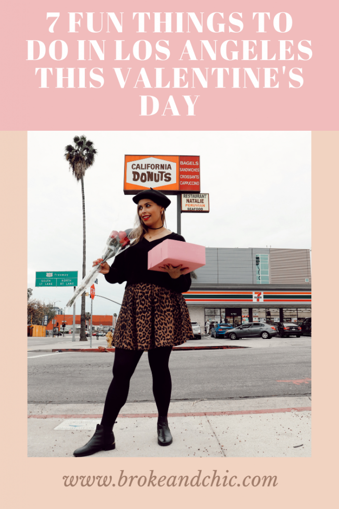 Ideas on things to do in Los Angeles for Valentine's Day.