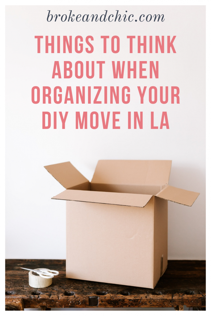 tips on moving in Los Angeles
