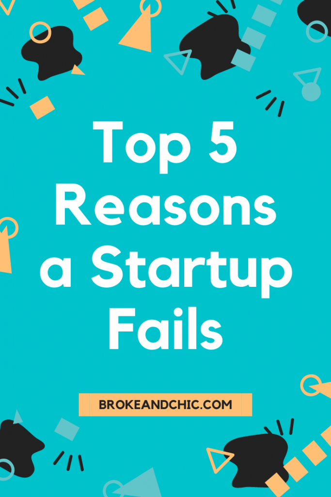 Reasons why a startup would fail during the first year of business.