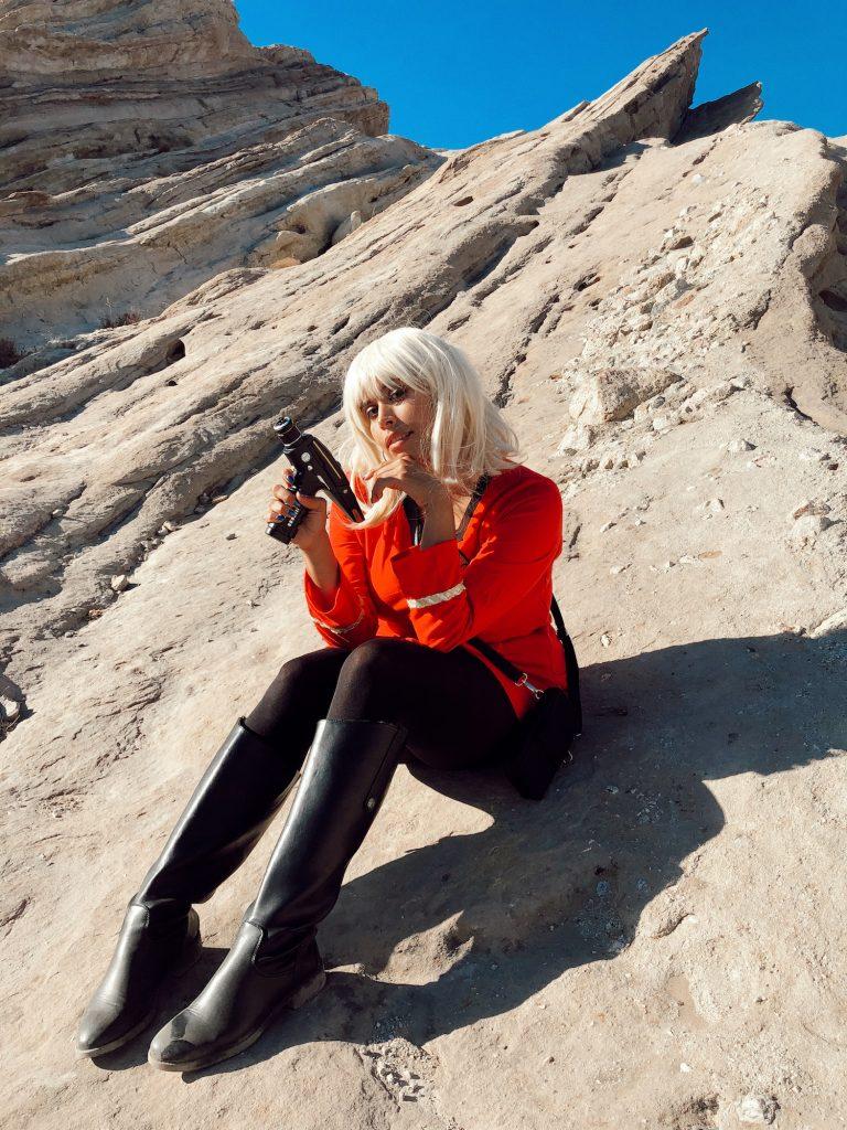 Star Trek Cosplay at Vazquez Rocks