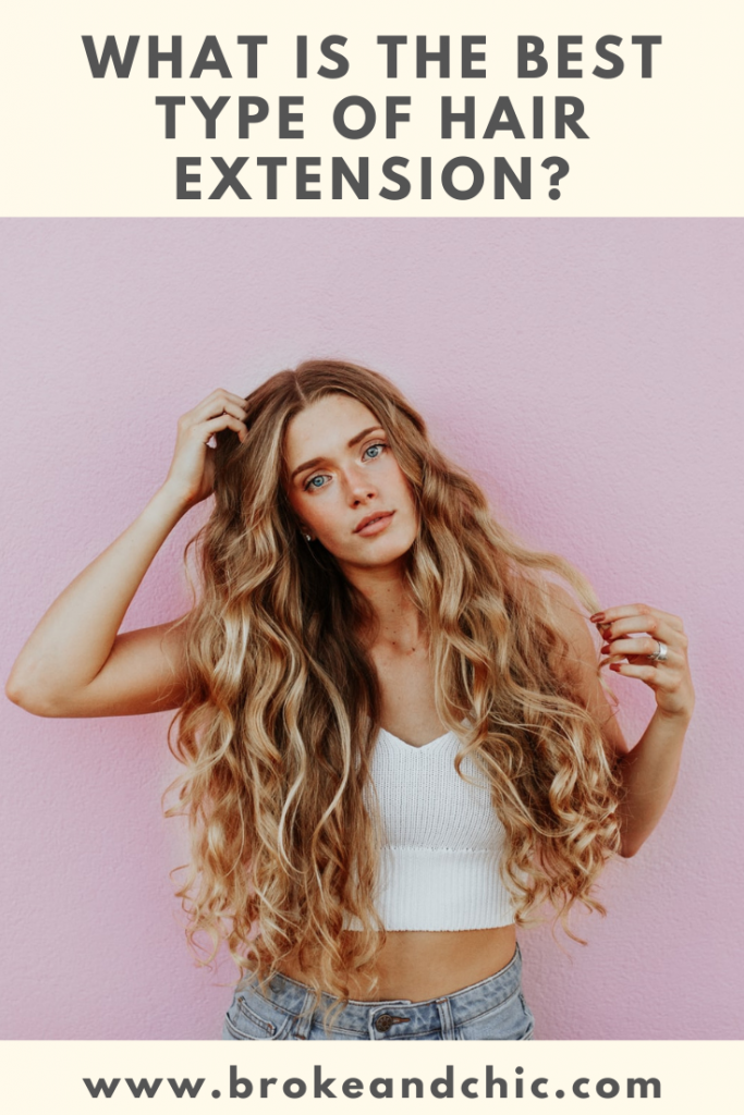 Fuller Hair with Hair Extensions